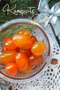 Recette kumquats confits au sucre