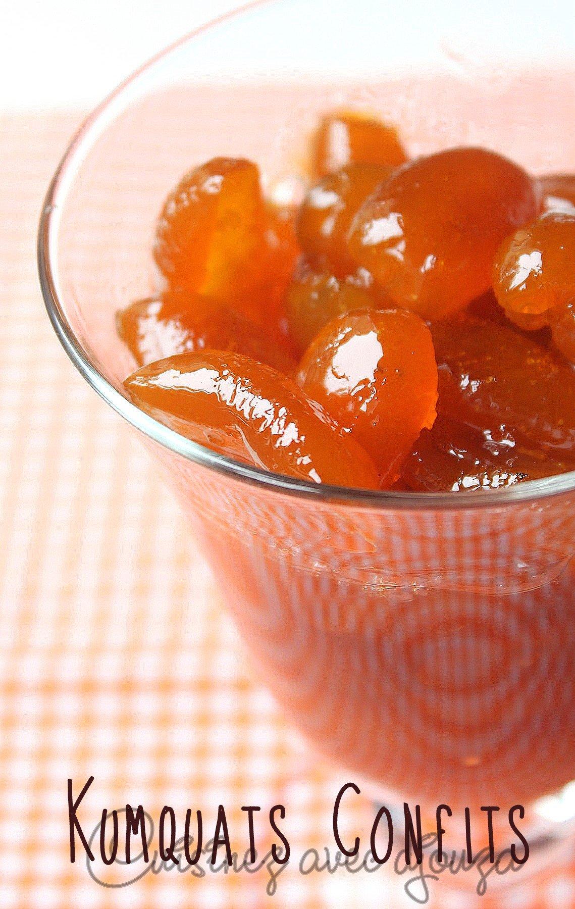 recette kumquat confit maison