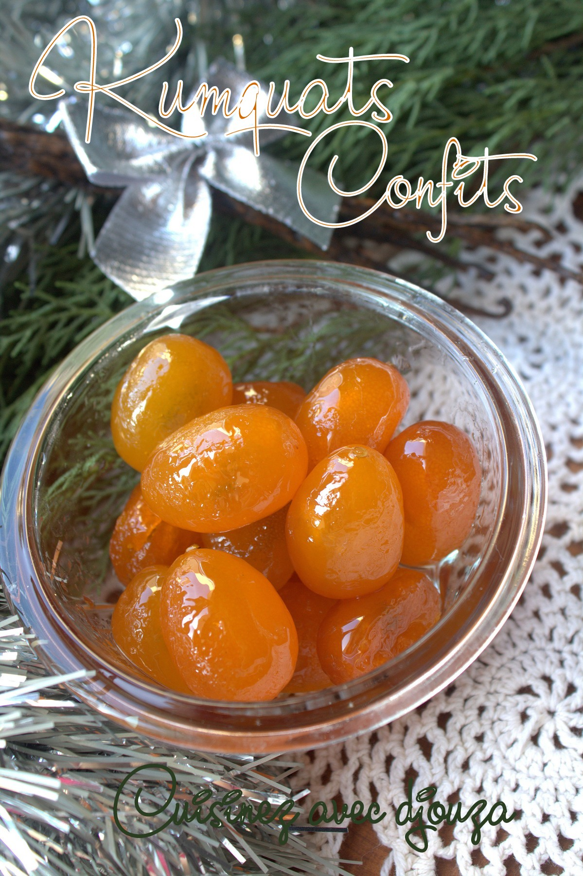Comment confire les kumquats