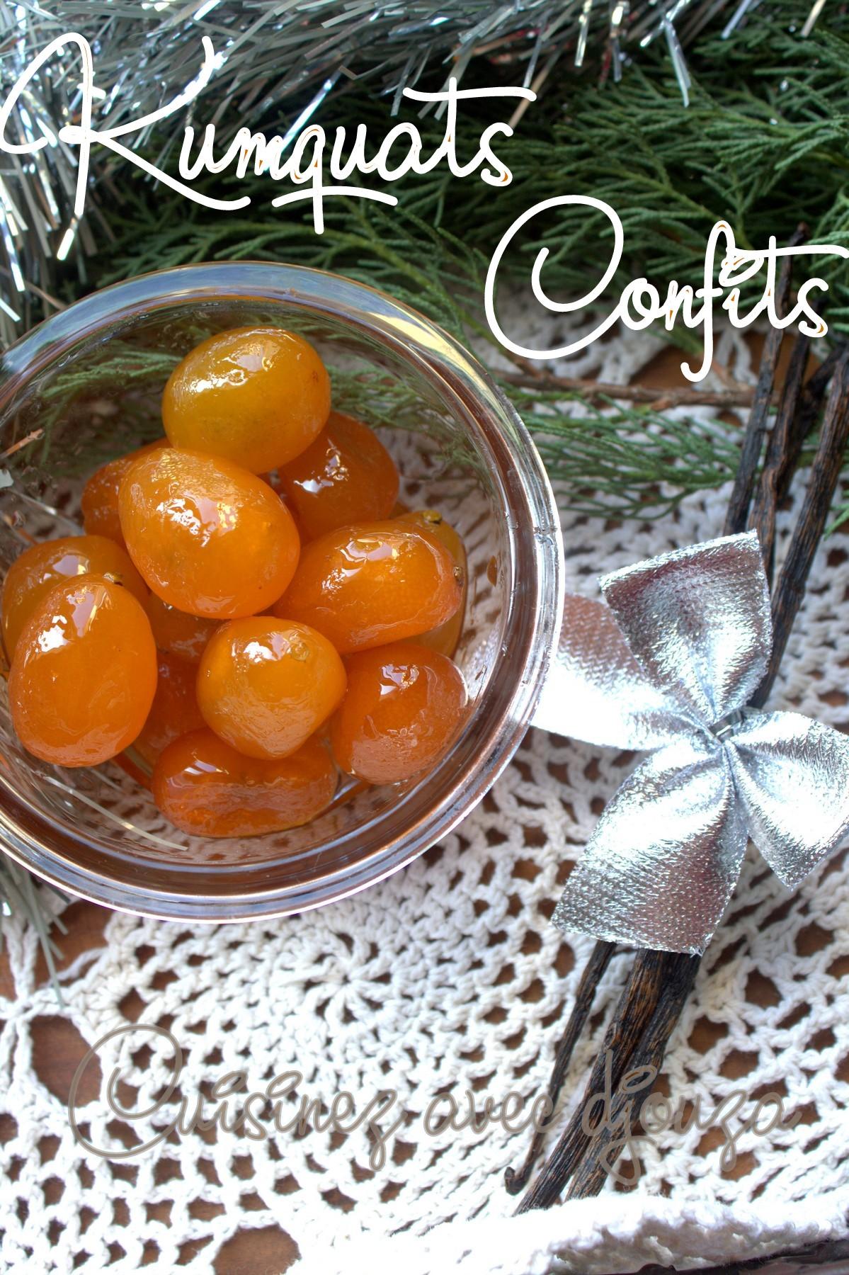 Kumquat confit maison