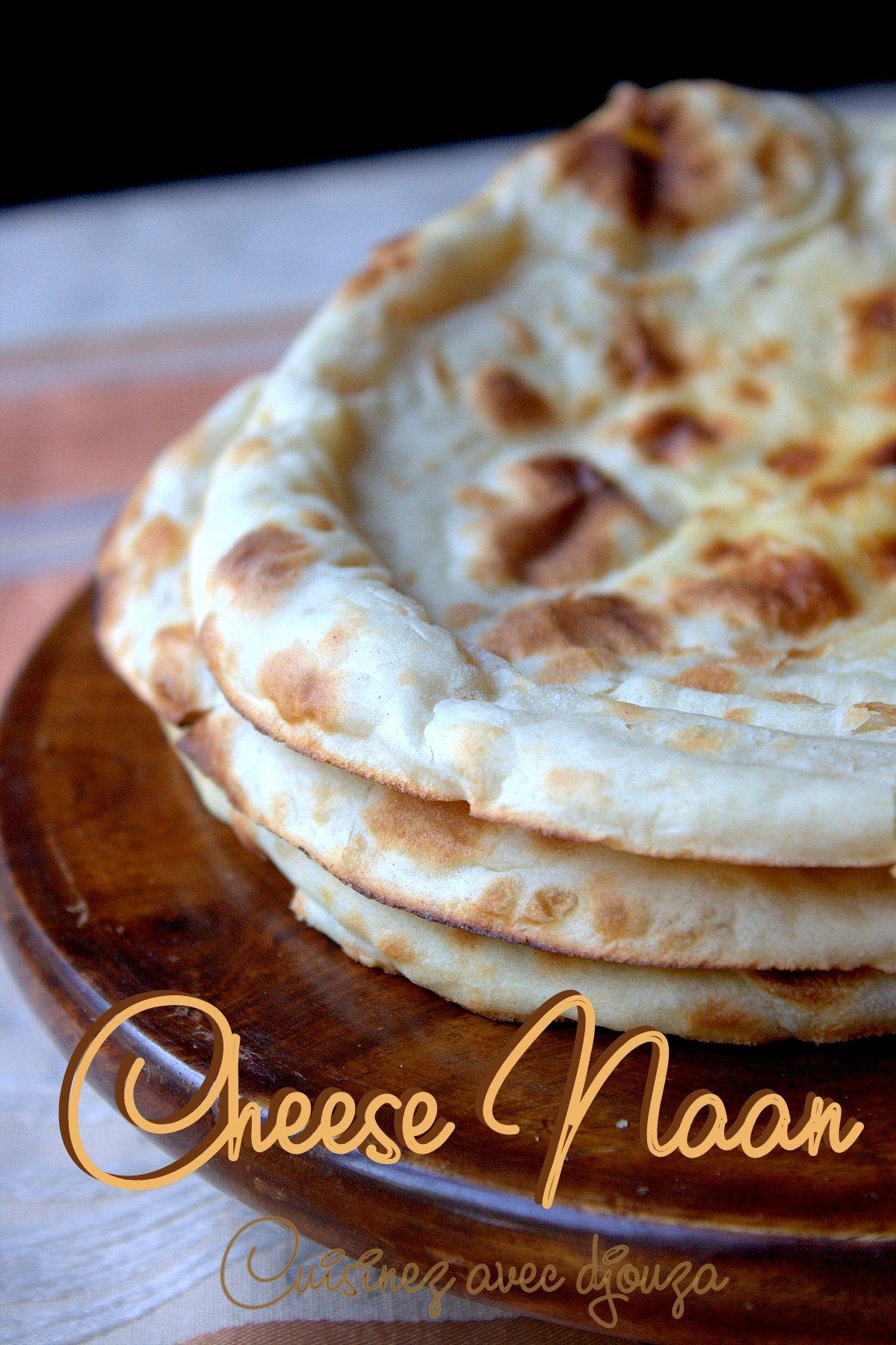 naan au fromage recette facile