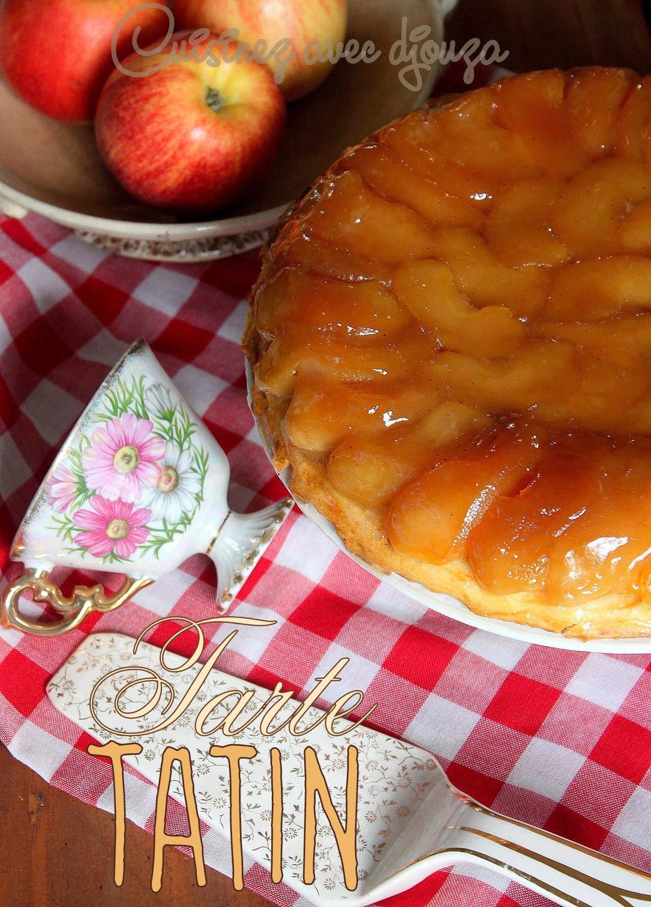tarte tatin de Christophe Michalak aux pommes