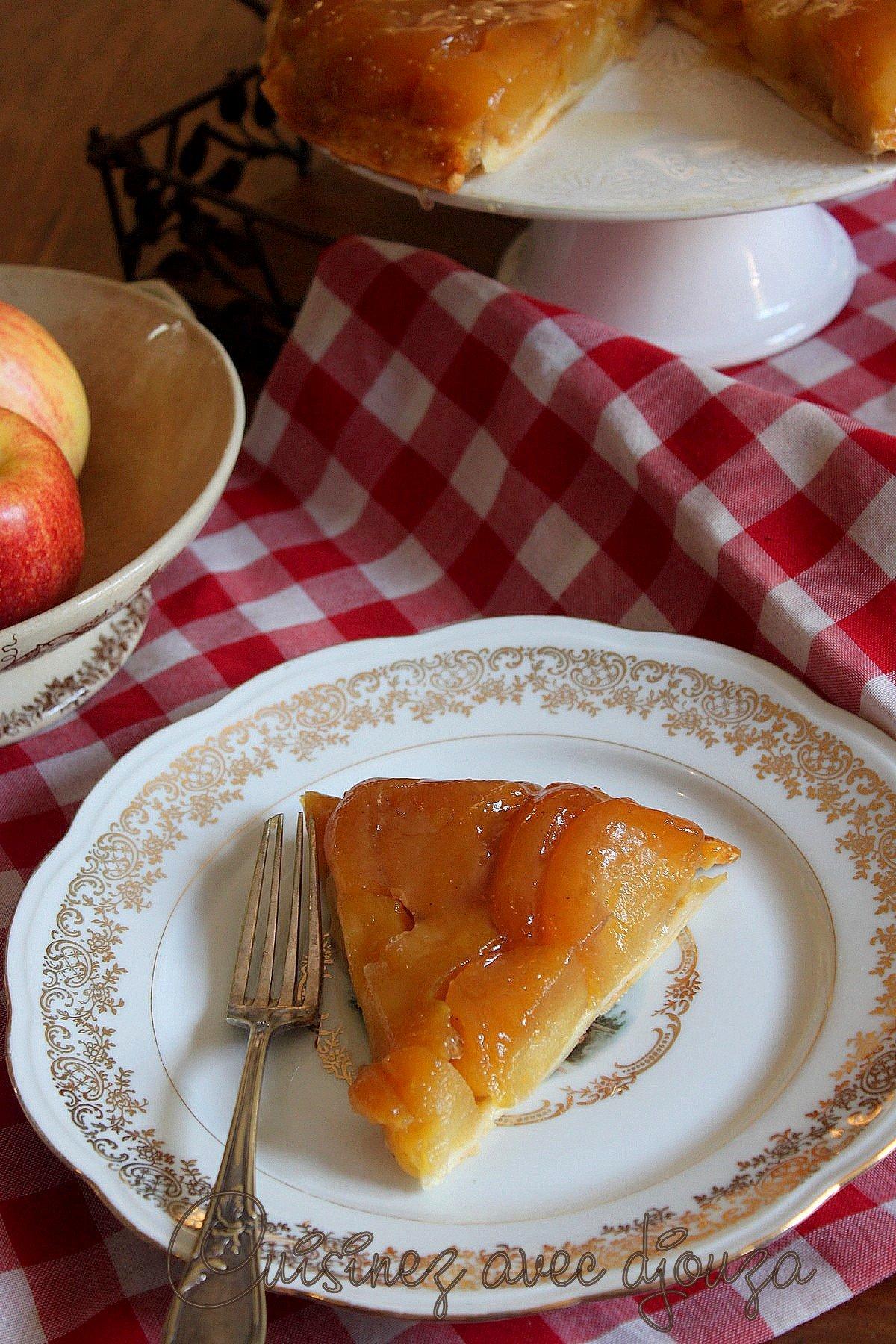 dessert pommes de Christophe Michalak aux pommes