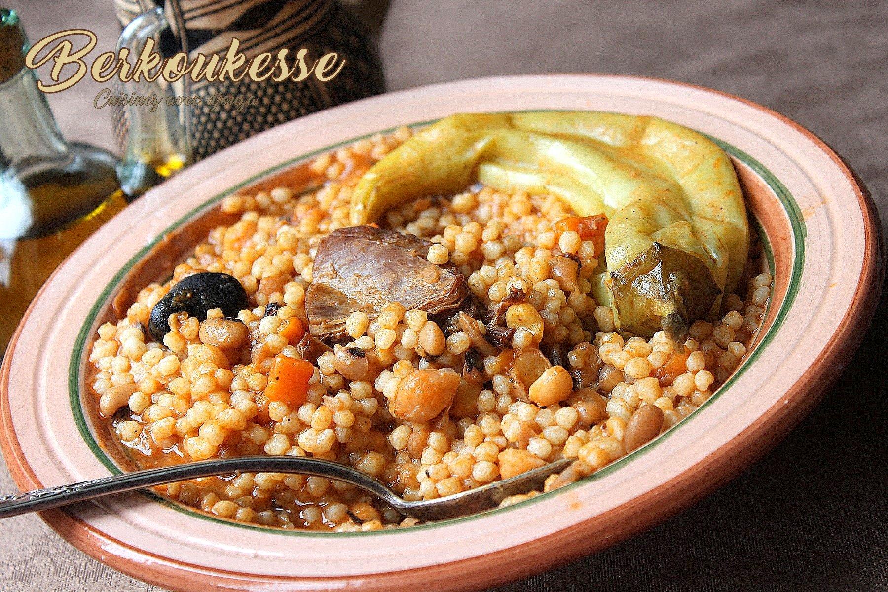 Berkoukes spécialité algérienne