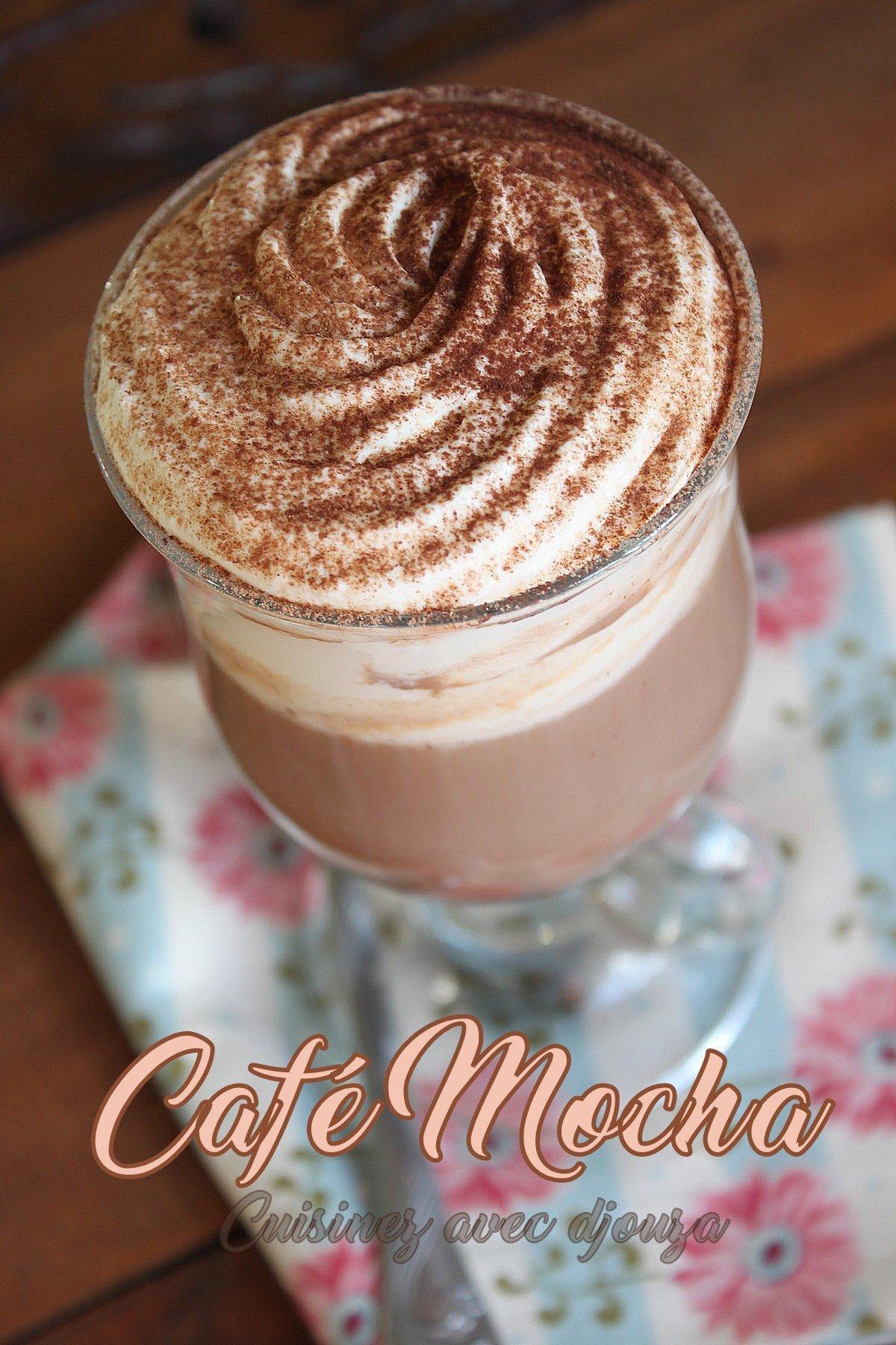 Cafe mocha boisson chaude