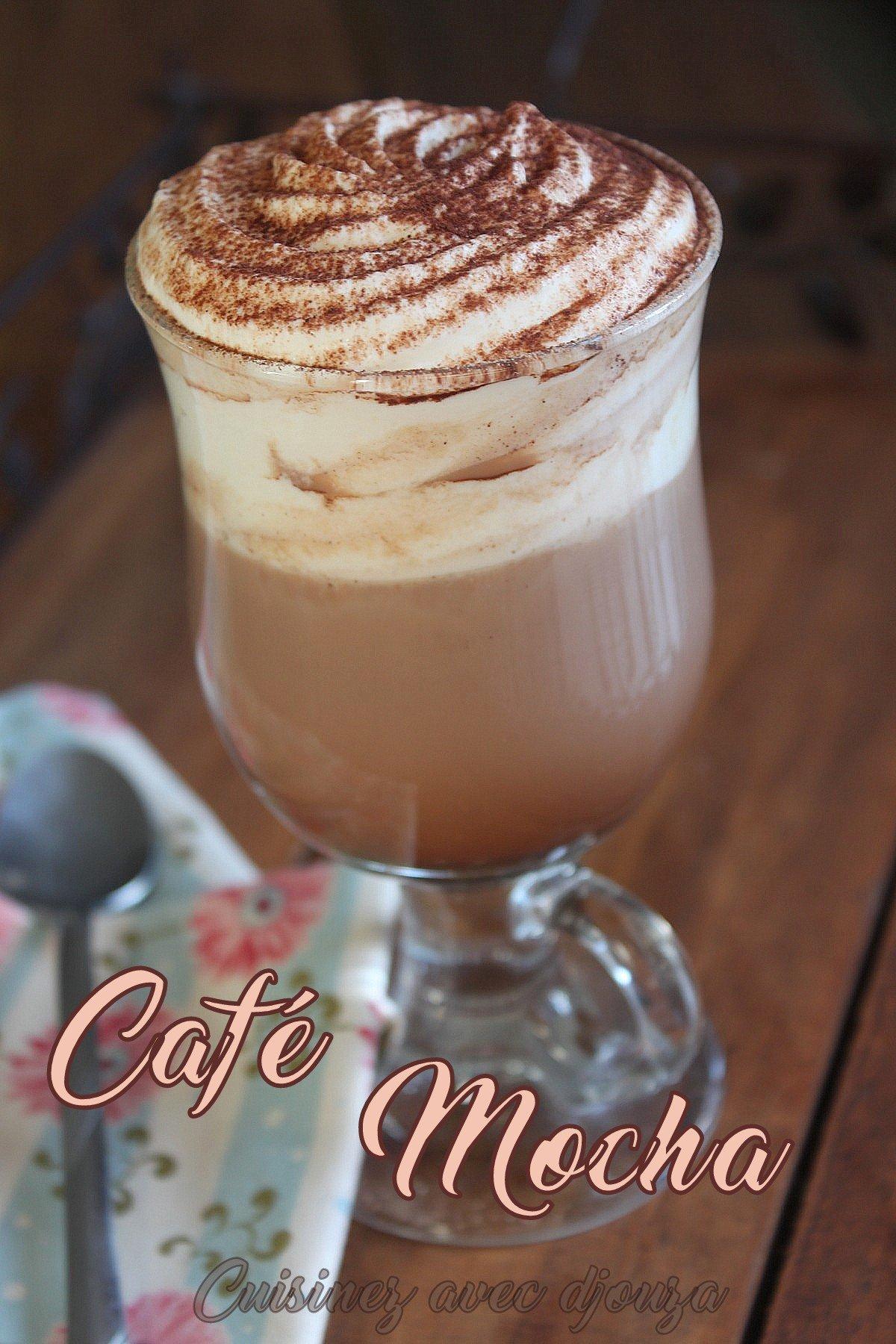 Mocha latte recette