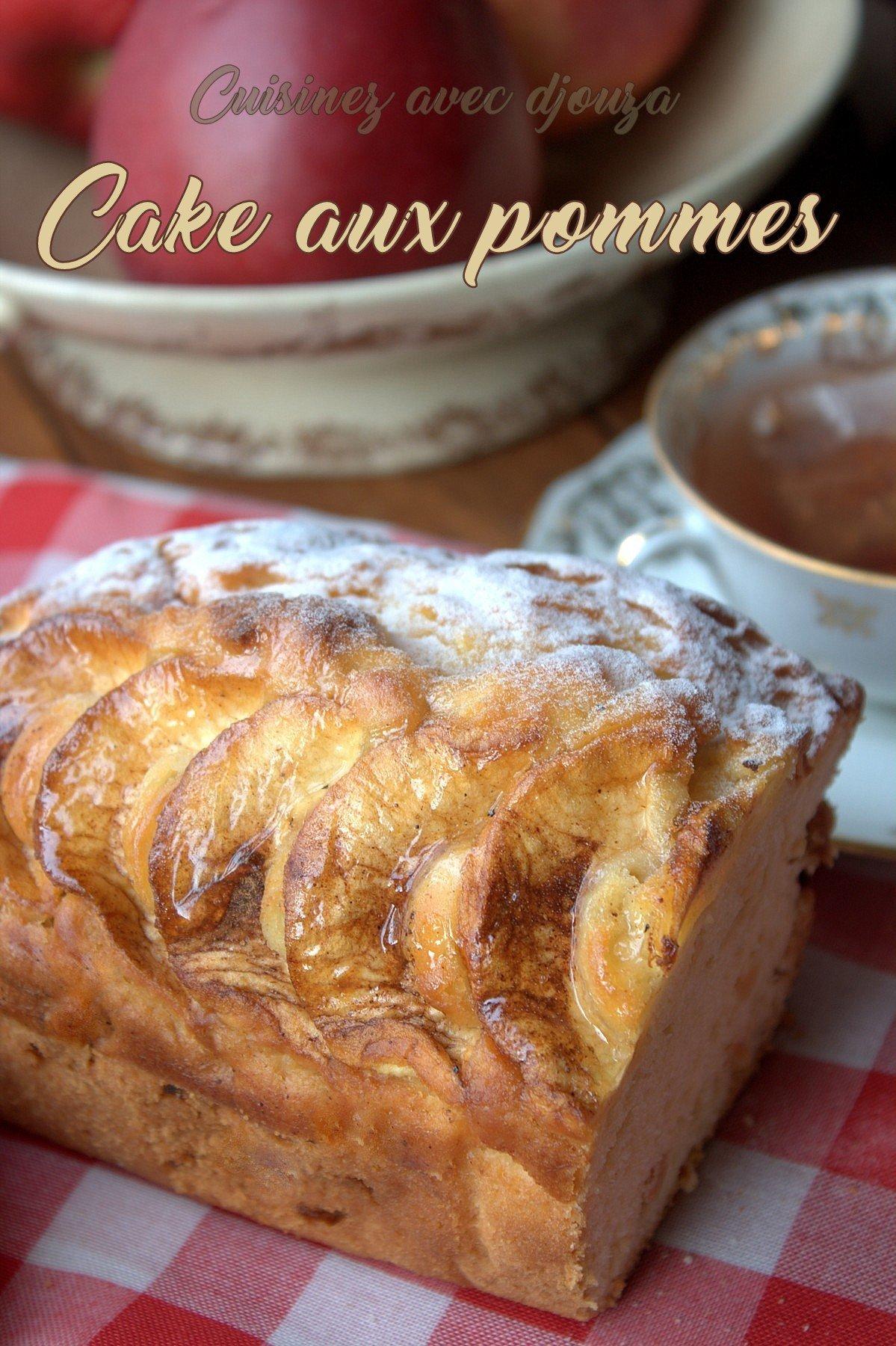 Cake ou gâteau aux pommes