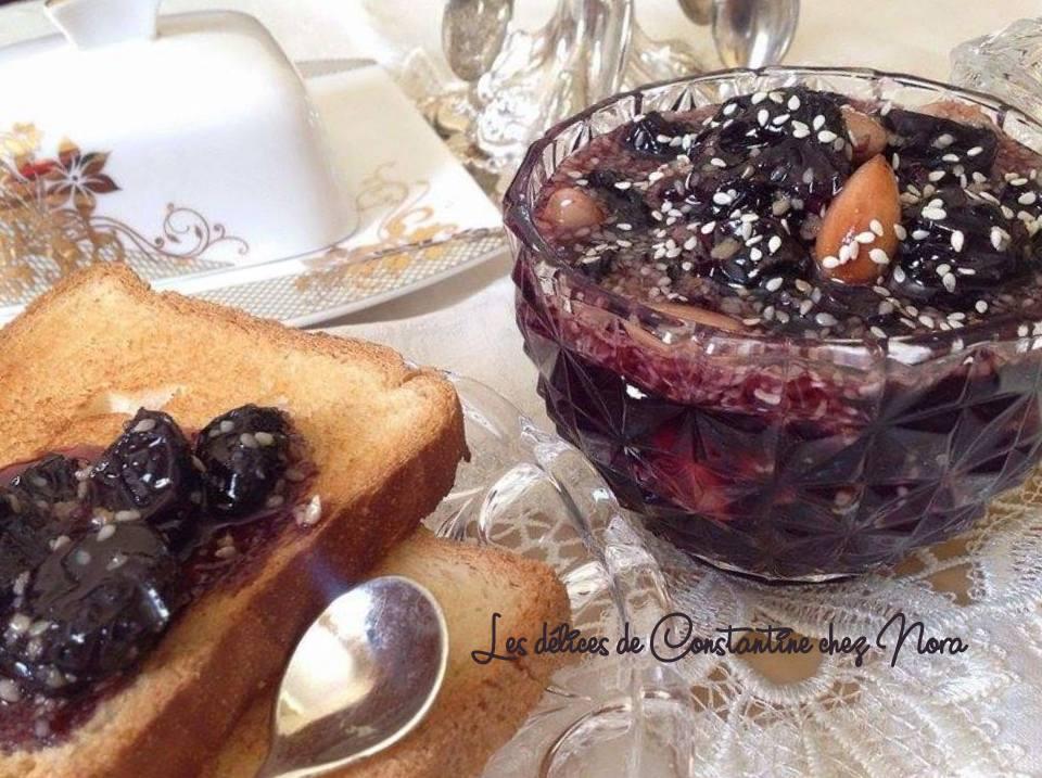 Confiture de raisins noirs recette chyriote