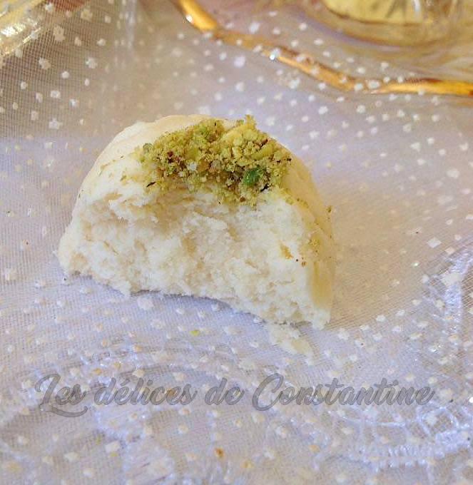 recette de ghribia algérienne