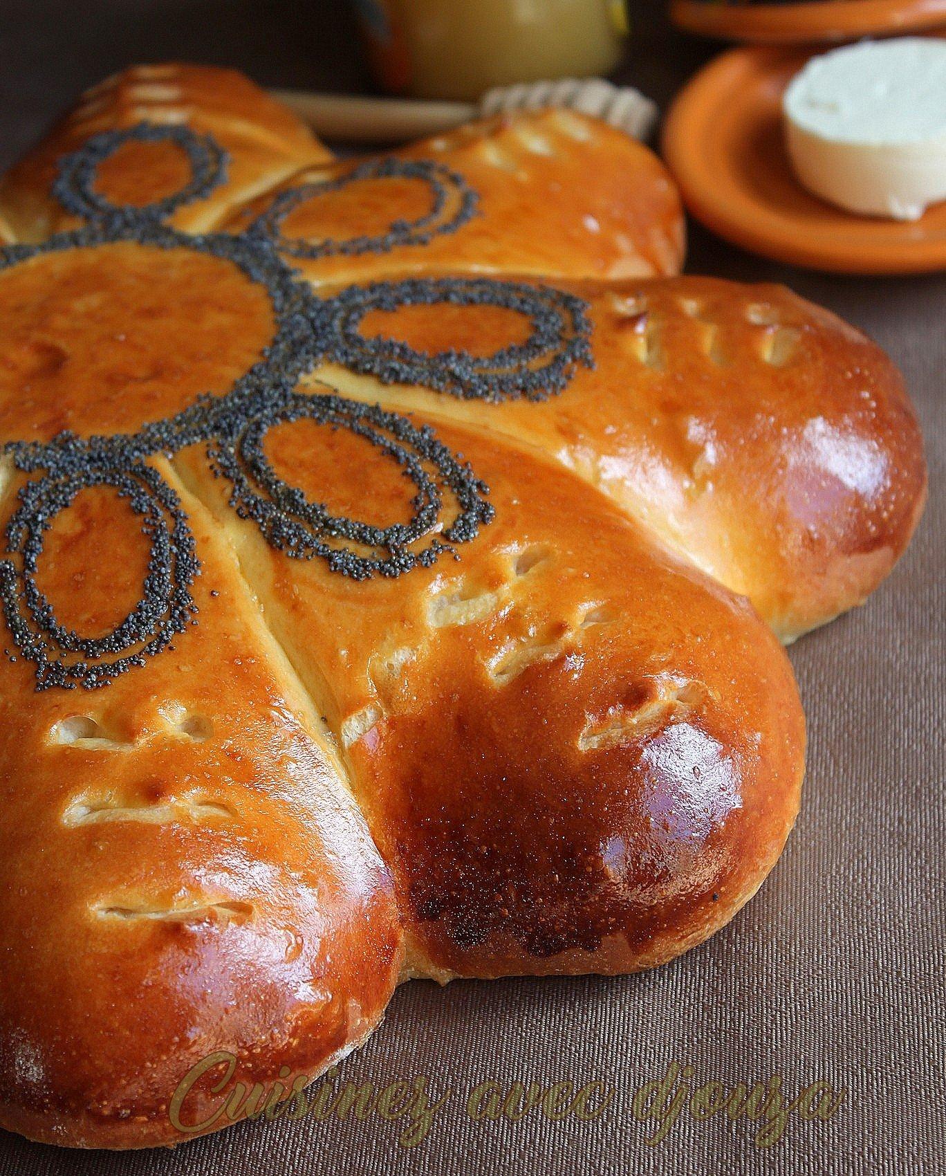 Khobz dar pain aux oeufs