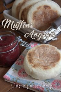 Recette muffin pain anglais