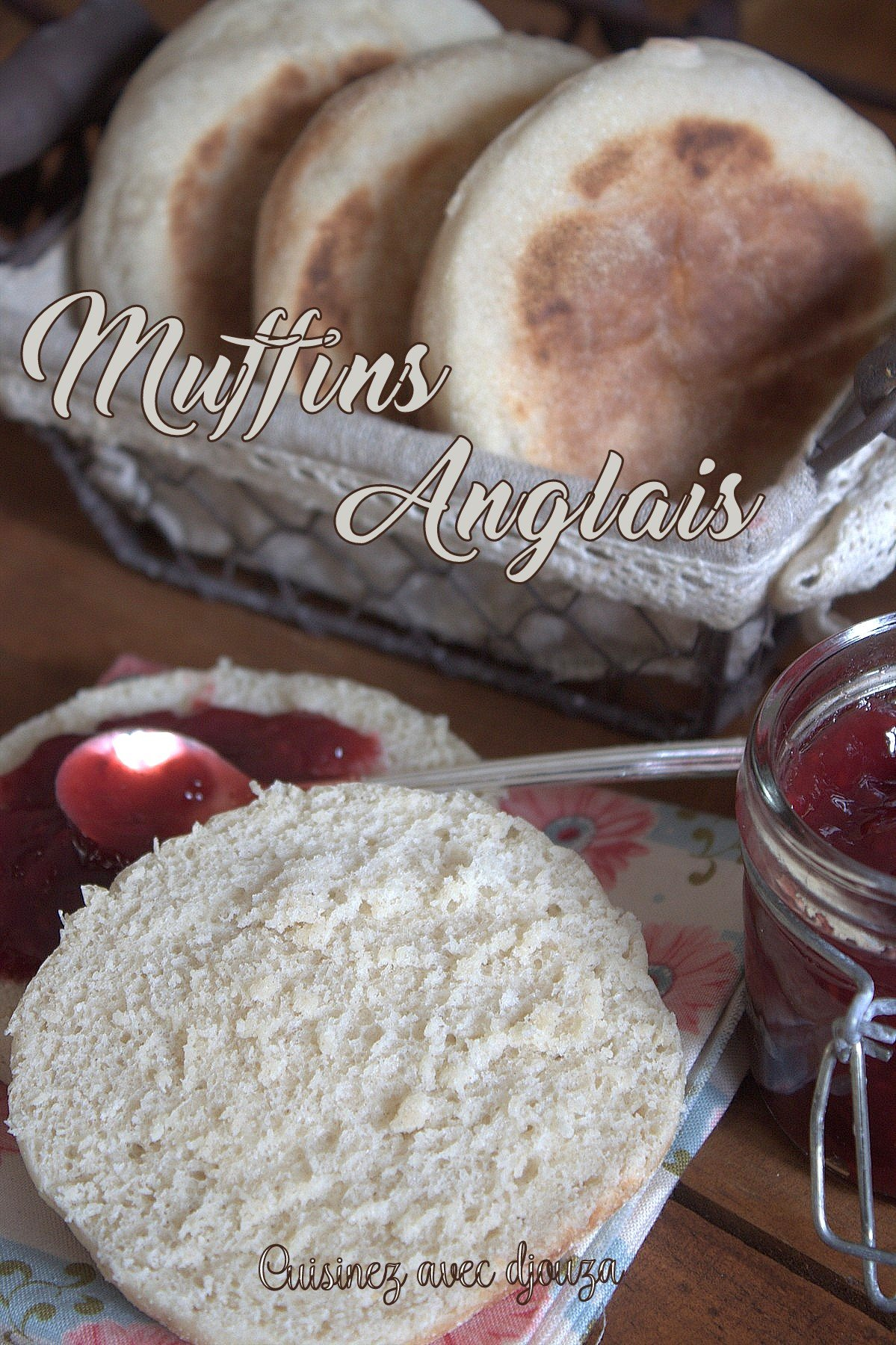 Recette english muffin maison