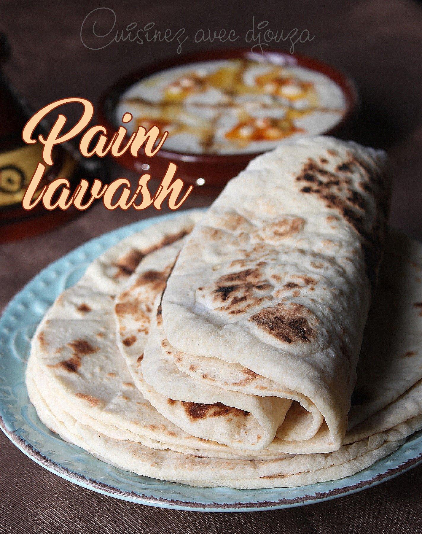 Pain lavash pain armenien traditionnel