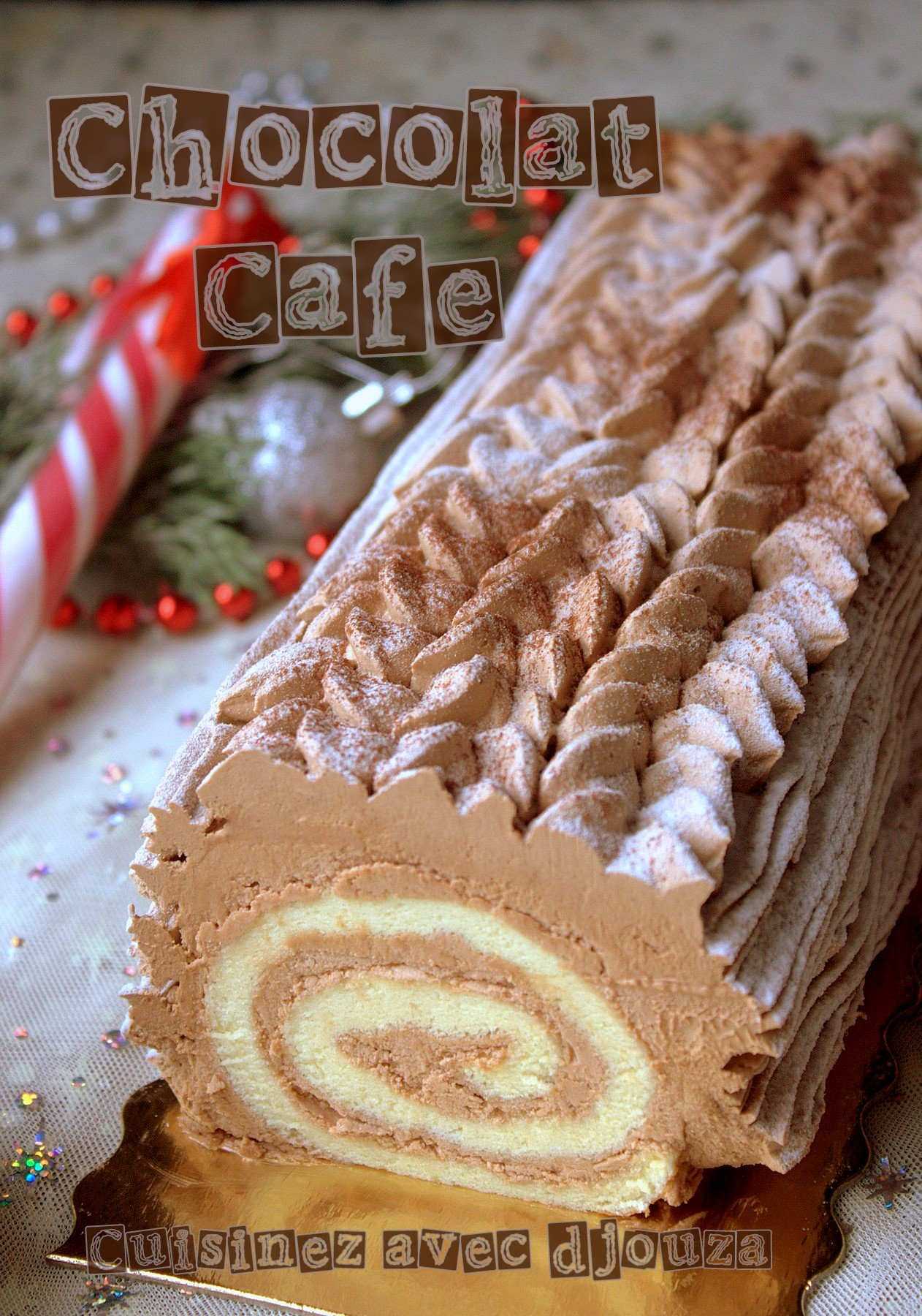 Buche noel cafe facile