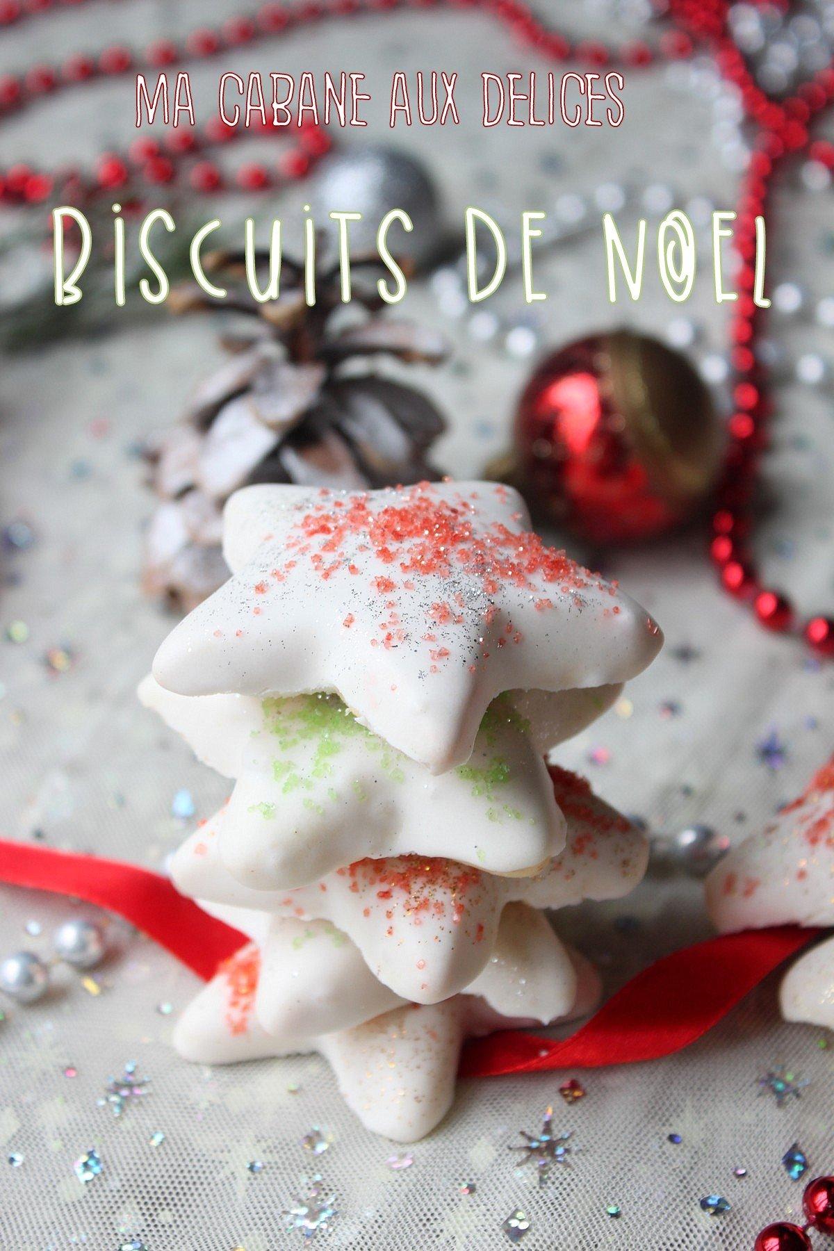Biscuits de Noel bredele à la glace royale