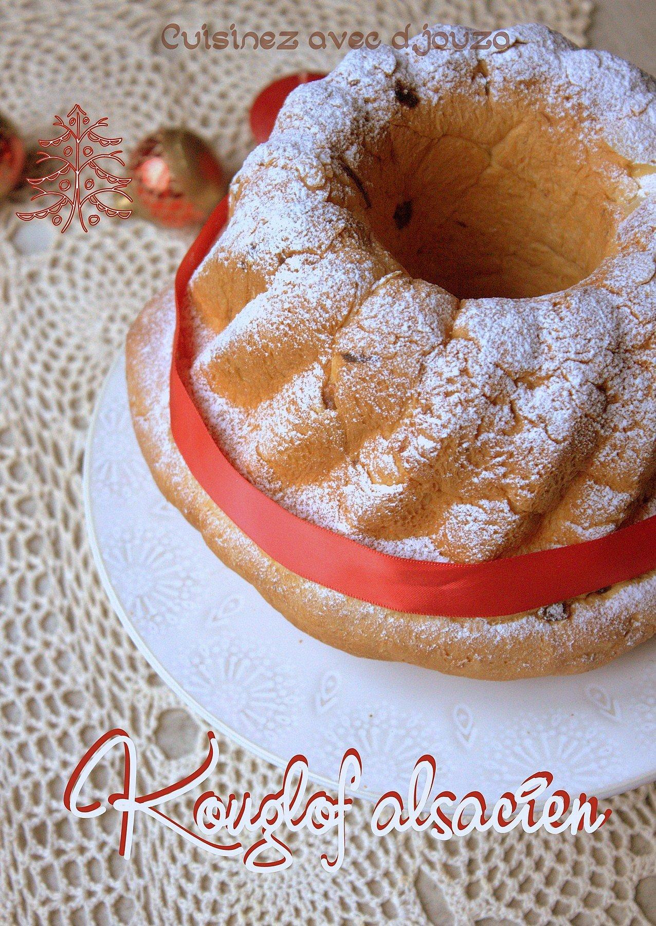 Le kouglof alsacien ou kougelhopf recettes faciles - Kouglof alsacien recette en video cuisine ...
