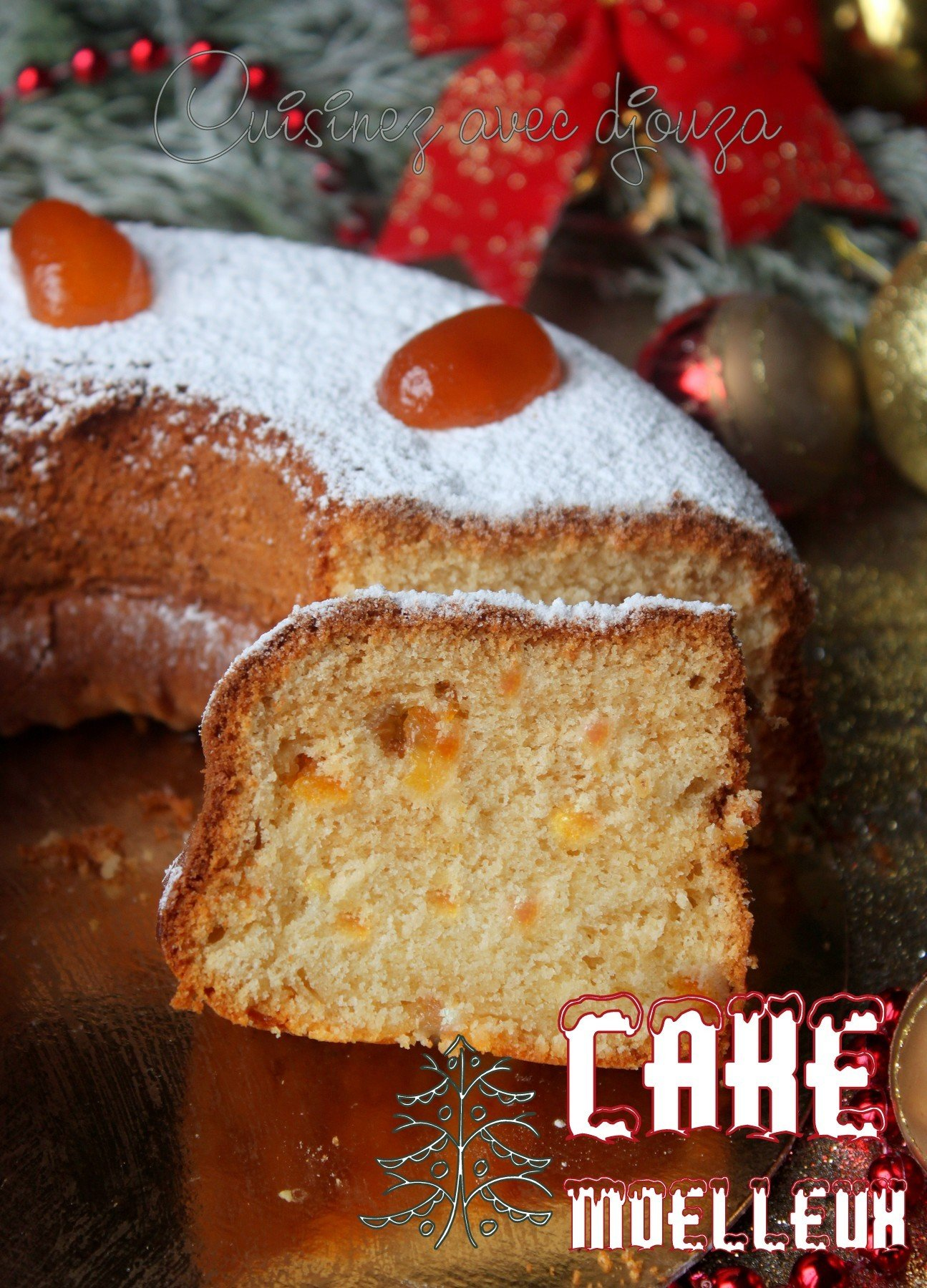 Recette cake kumquats