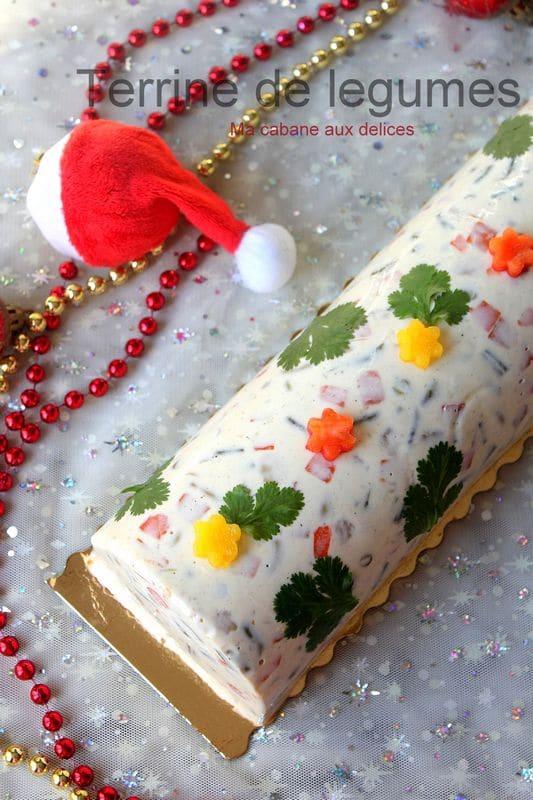 Terrine de legumes froide sans cuisson recettes faciles for Entree froide sympa