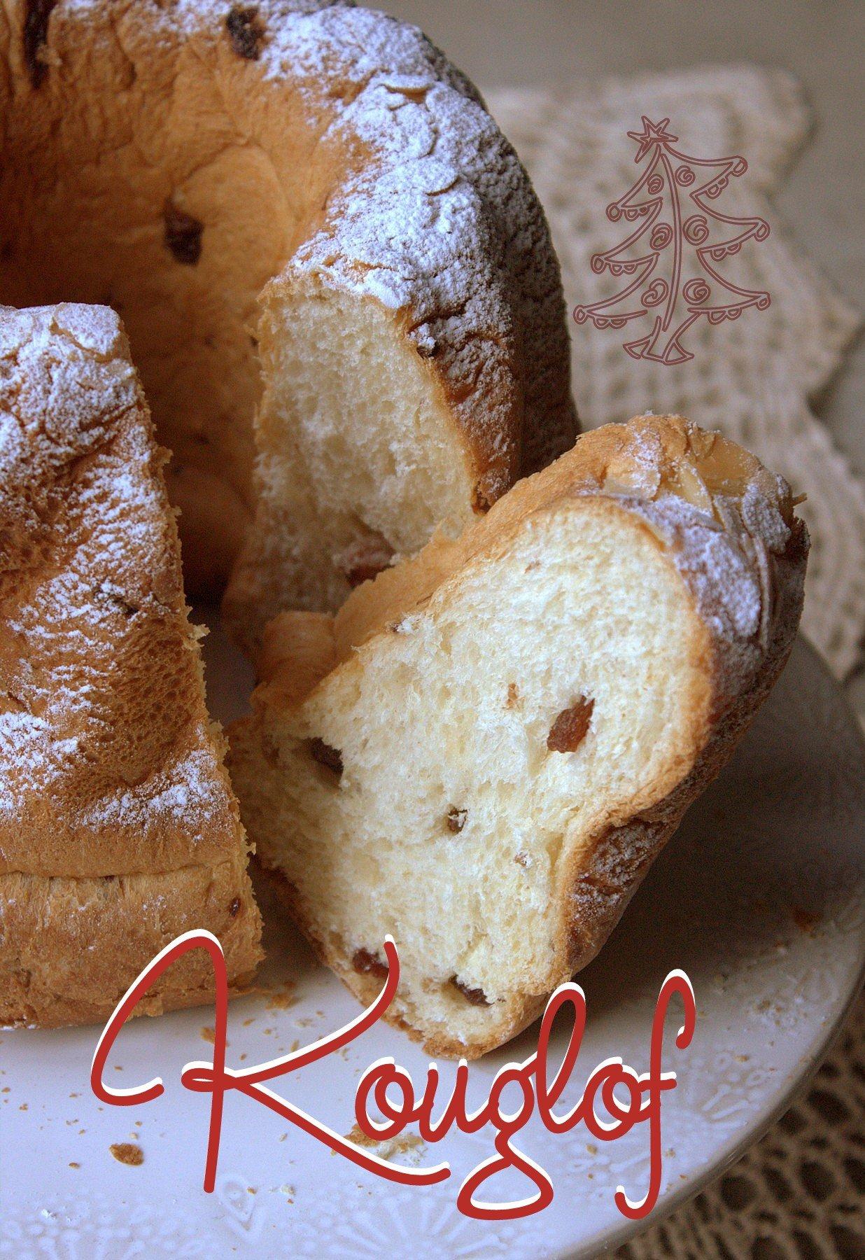 Le kouglof alsacien ou kougelhopf recettes faciles recettes rapides de djouza - Kouglof alsacien recette en video cuisine ...