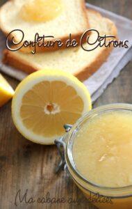 Confiture ou marmelade de citrons