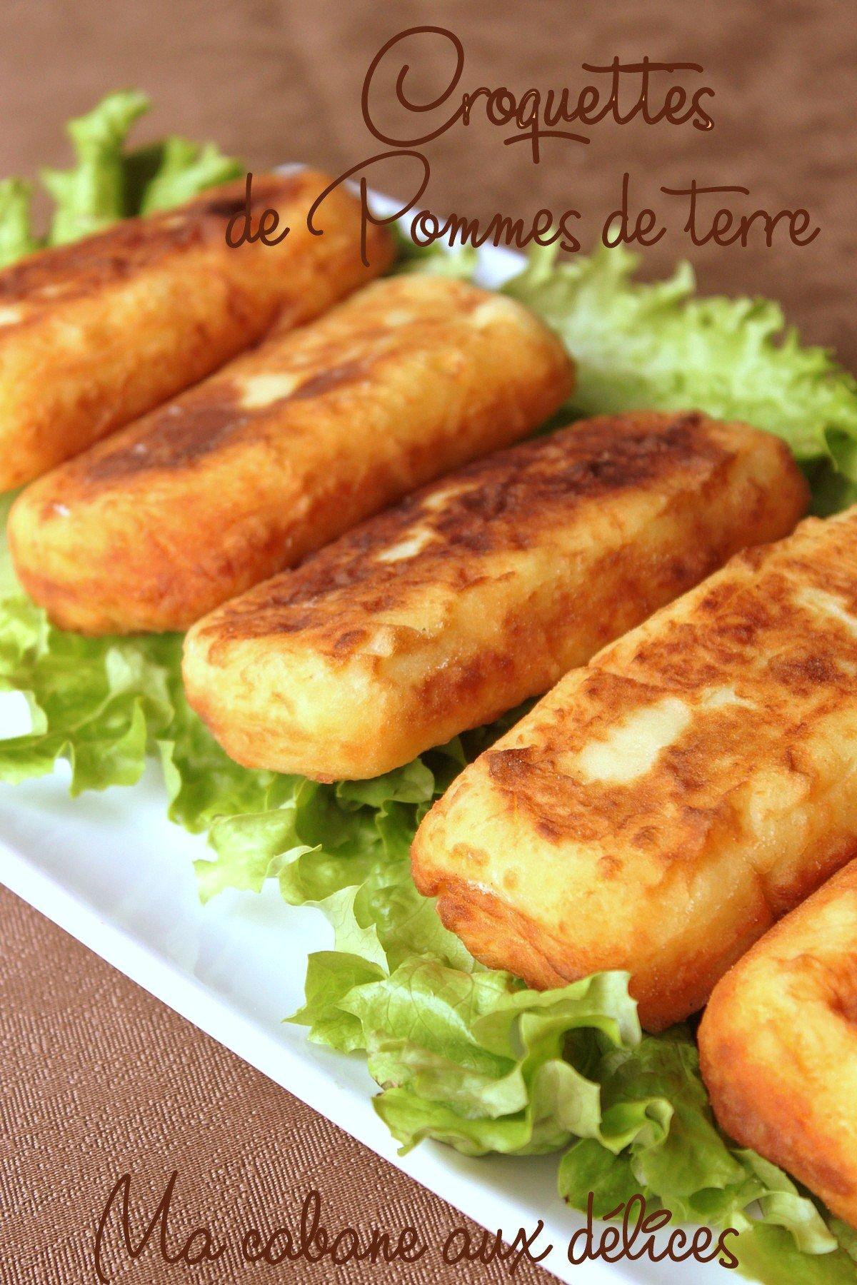 croquettes de pommes de terre la viande hach e recettes faciles recettes rapides de djouza. Black Bedroom Furniture Sets. Home Design Ideas