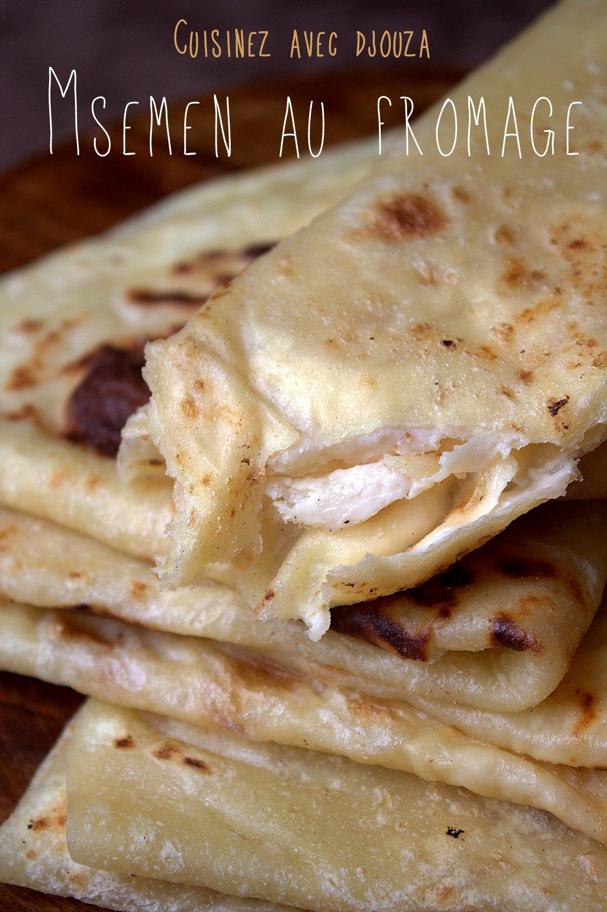 msemen au fromage fa on cheese naan recettes faciles recettes rapides de djouza. Black Bedroom Furniture Sets. Home Design Ideas