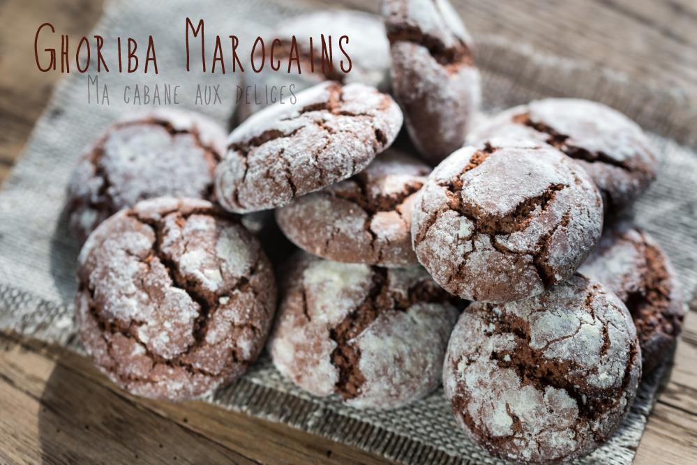 Ghoriba marocain au chocolat