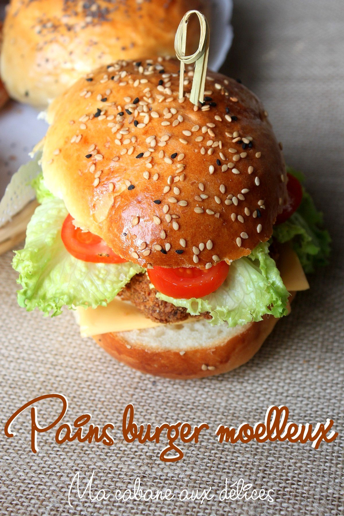 Pain à hamburger américain