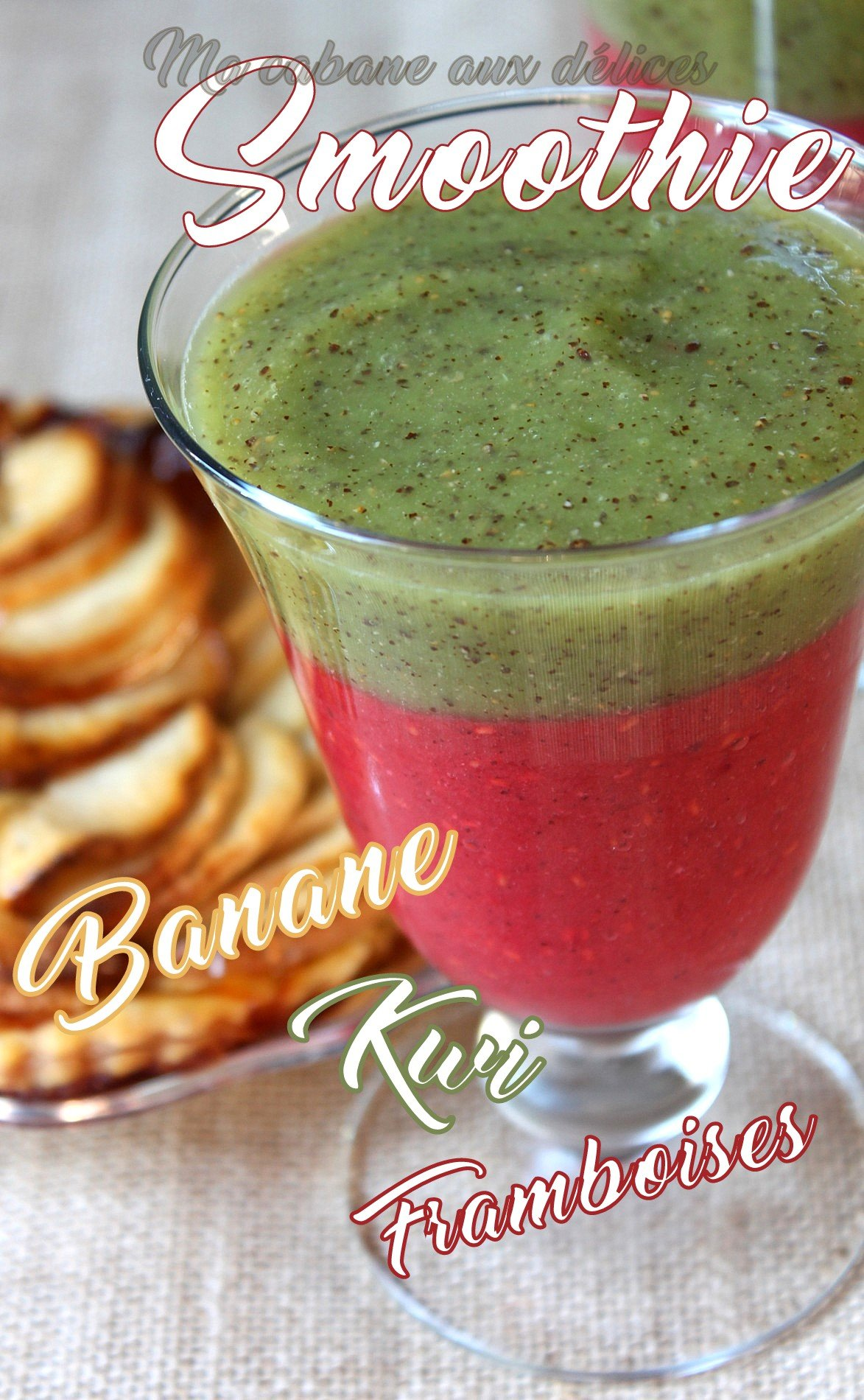 Recette smoothie banane kiwi sans sucre
