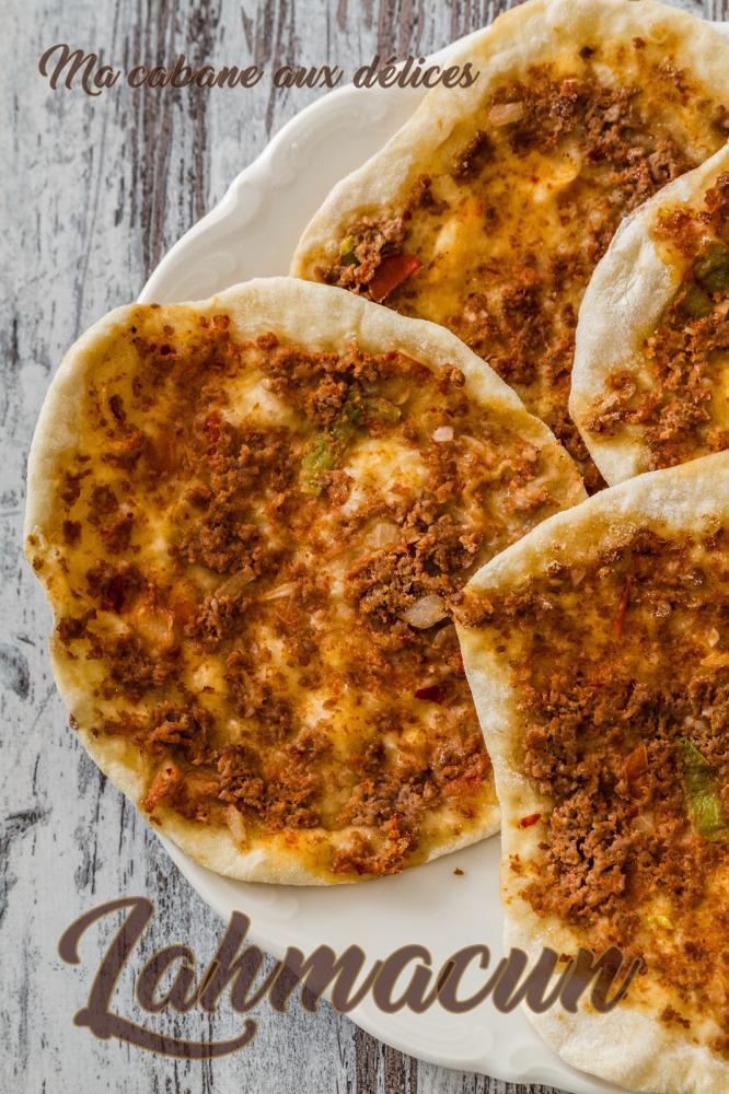 Pizza lahmacoun recette turque