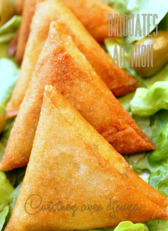 Briouates au thon marocaine facile
