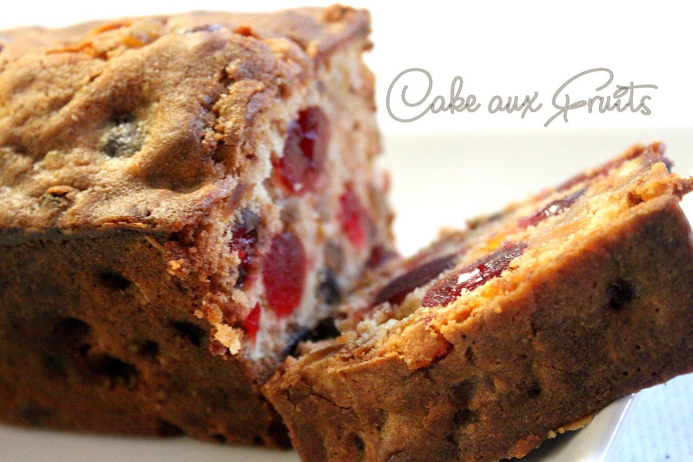 Cake aux fruits confits de Sophie Dudemaine