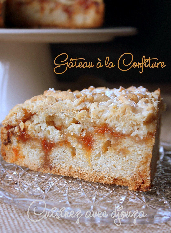 Gateau à la confiture d'abricots mderbel algérien