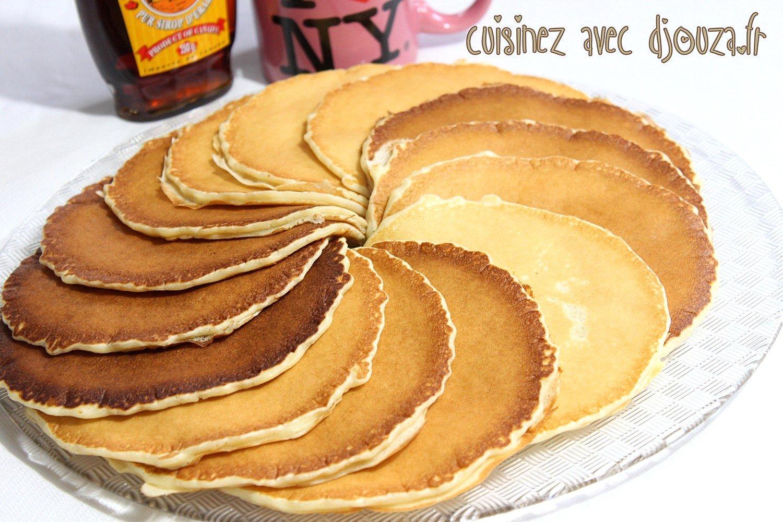 Recette pancakes au lben