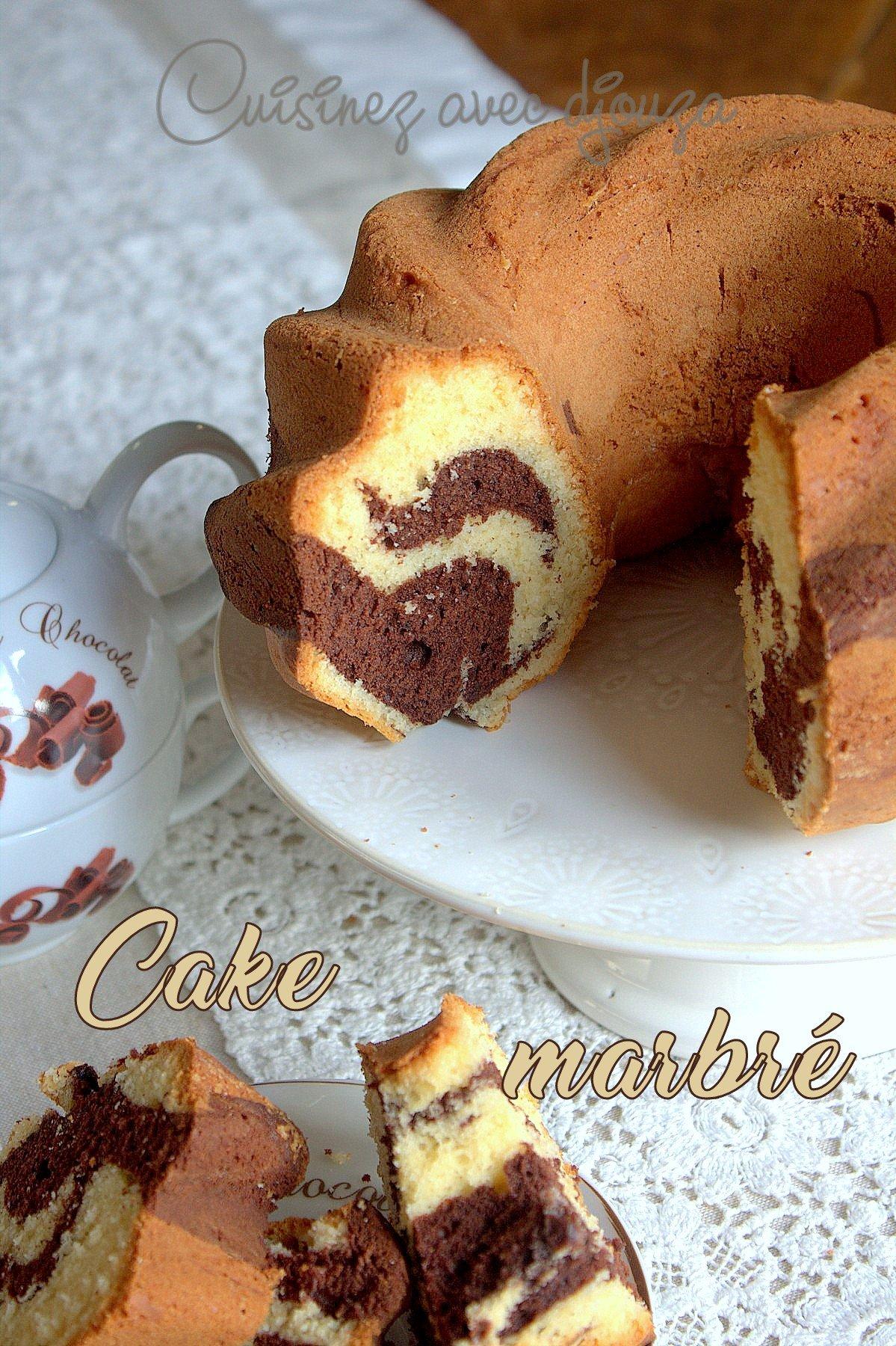 Cake Chocolat Marbr Ef Bf Bd