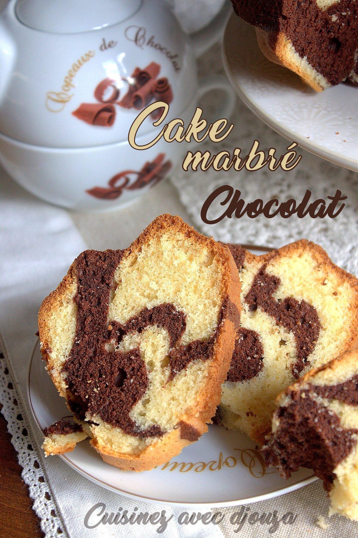 gateau vanille chocolat en poudre