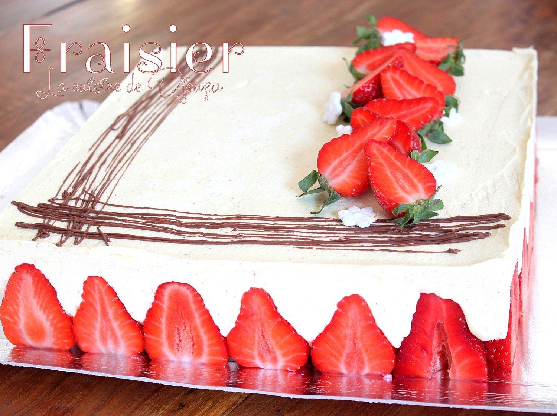 gâteau patissier mousselines