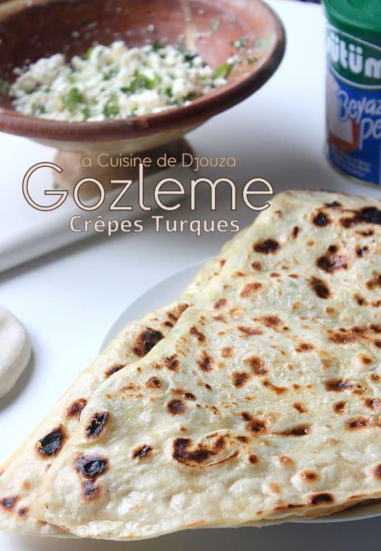 gozleme au fromage