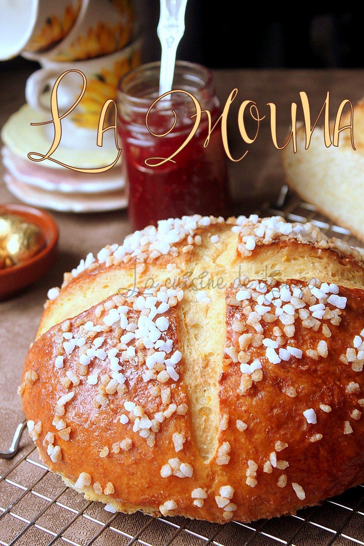La mouna recette traditionnelle d'Algérie