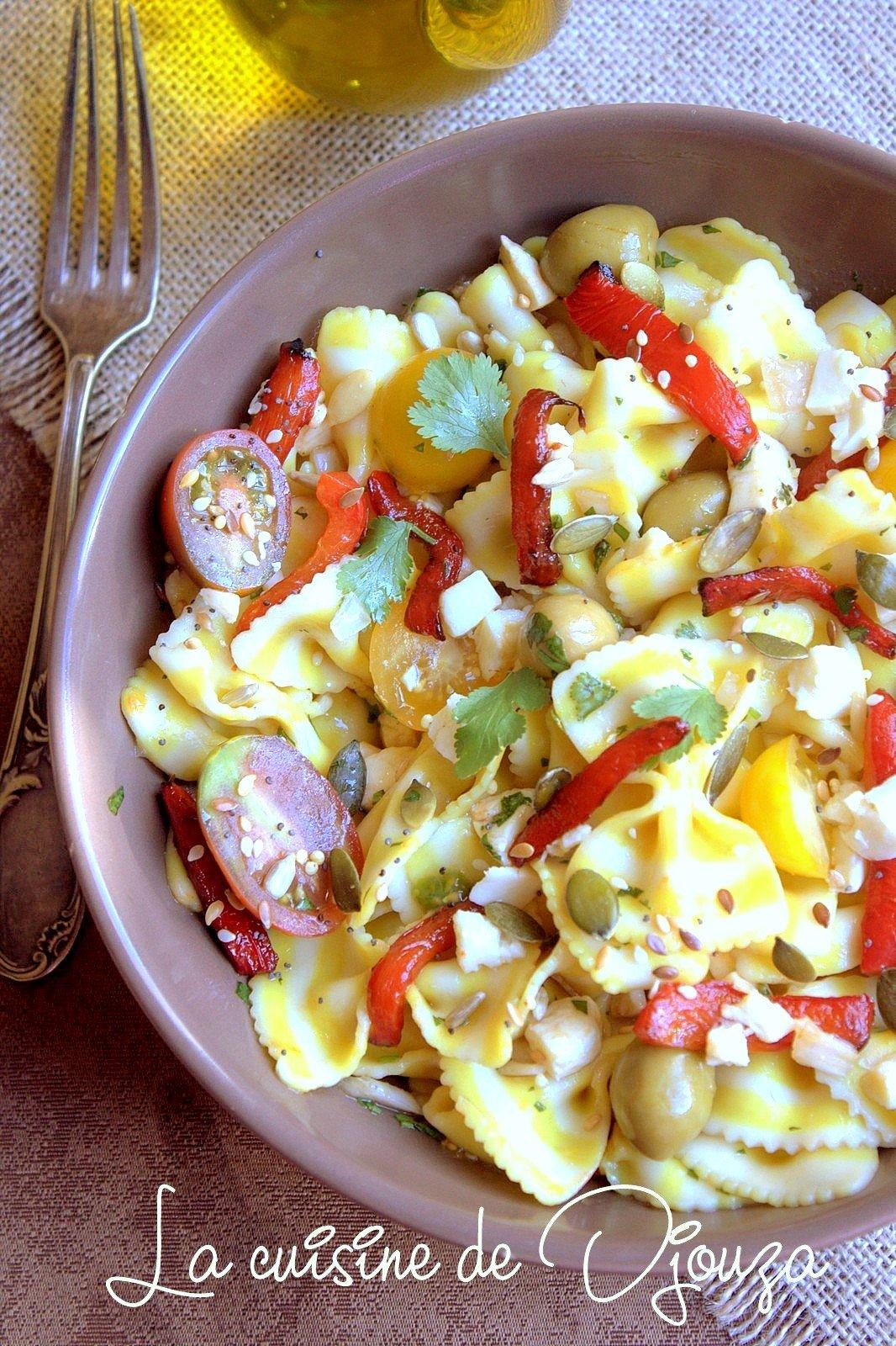 Salade de pates froide italienne