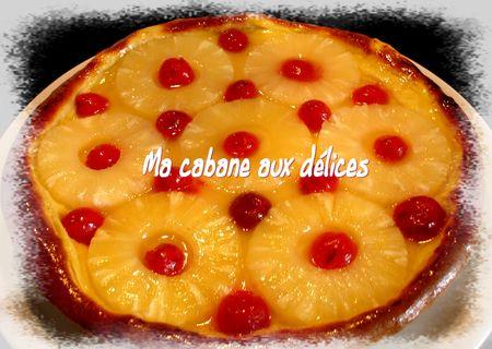 Tarte briochée crème pâtissière et ananas