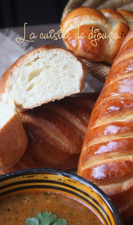 pain brioché salé au lait caillé (lben)