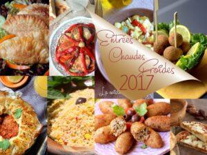 Entrées chaudes froides ramadan 2017