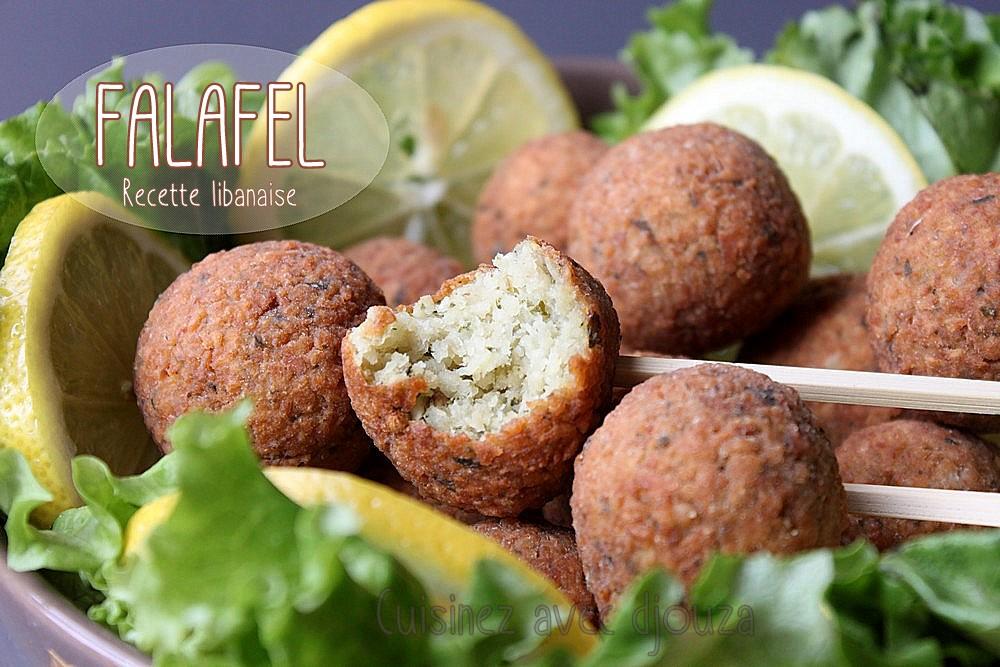 Falafels libanaises aux pois chiches