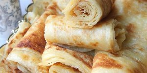 Msemen ou crêpes feuilletées du Maghreb