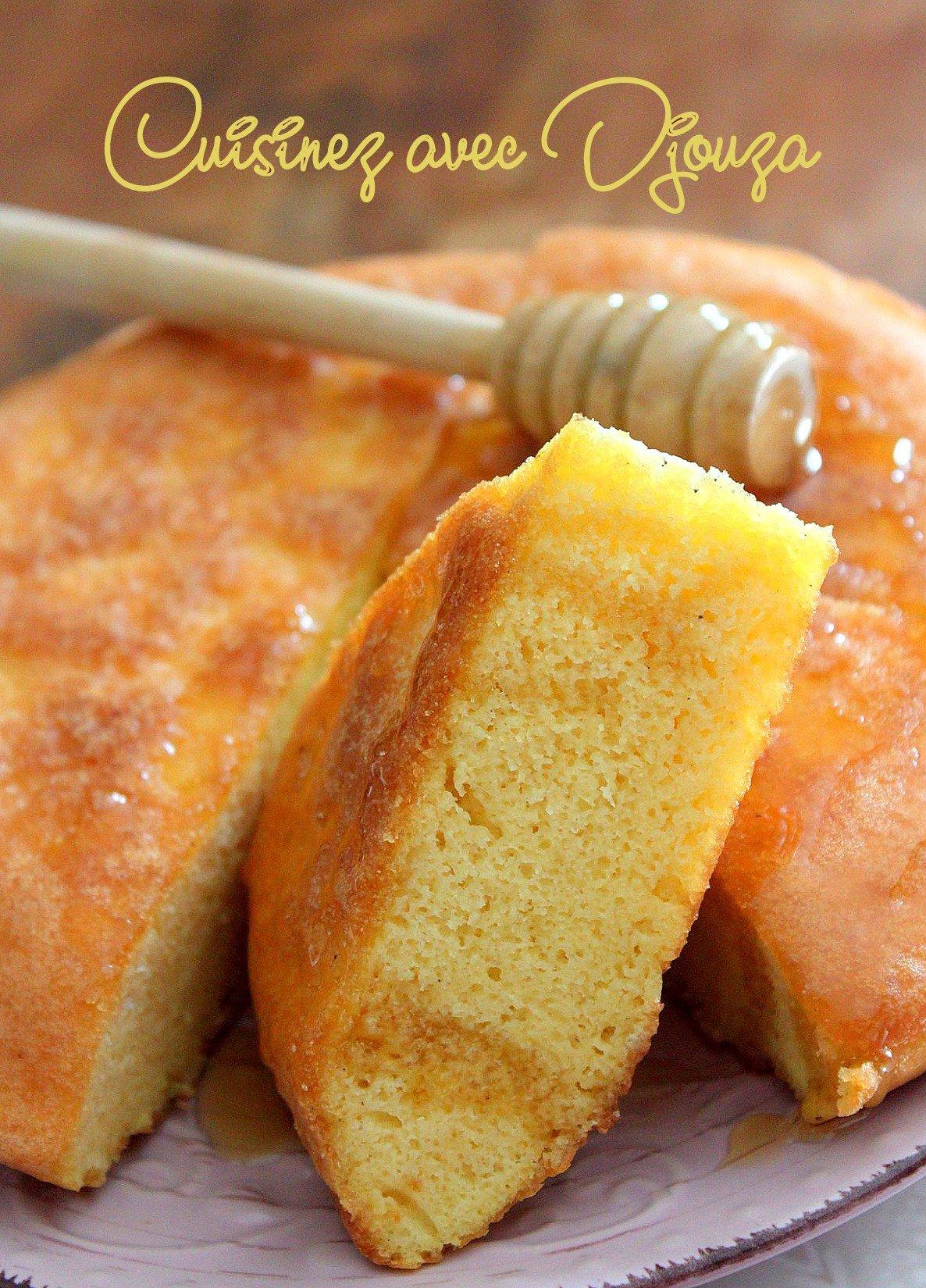 Gateau aux oeufs et miel kabyle tahvoult