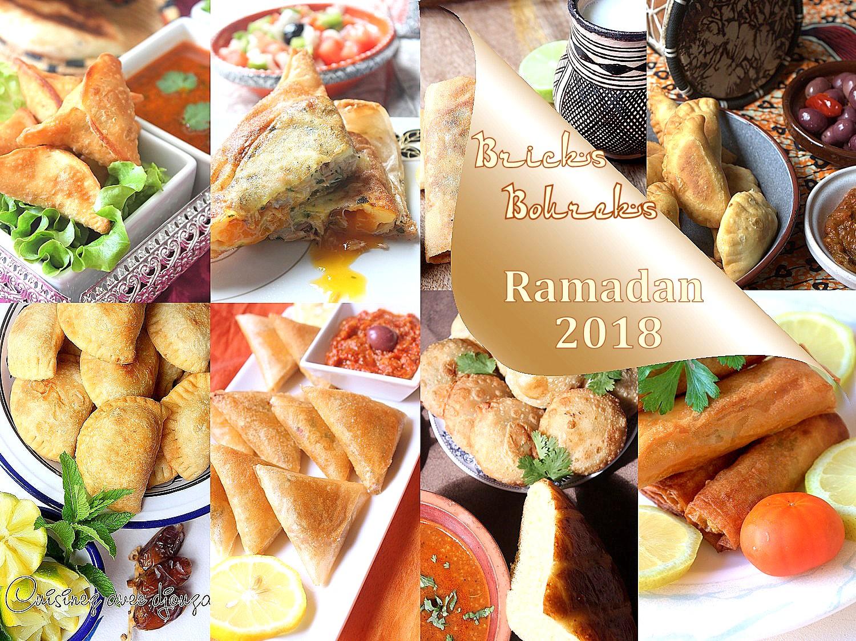 Brick et Boureks à préparer pour le Ramadan 2018