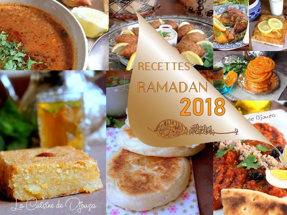 Recettes ramadan 2018