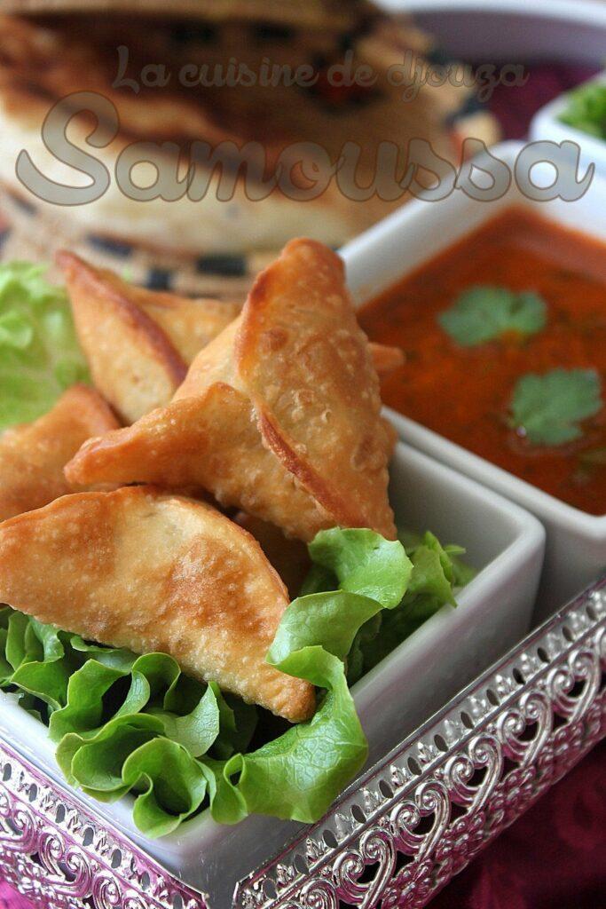 Samoussa à L Indienne Végétarien Avec Pâte Maison