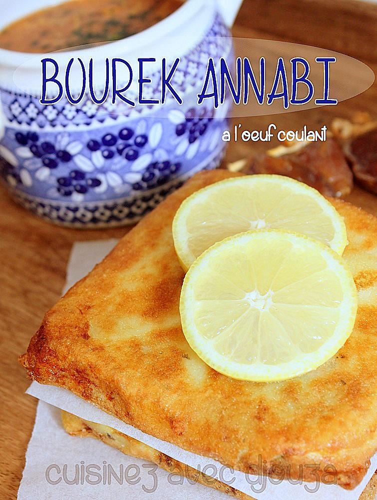 Bourek annabi viande et oeuf